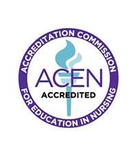 Accreditation Commission for Education in Nursing (ACEN) Accredited