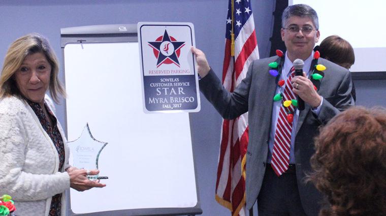 Myra Brisco-CS Star Award