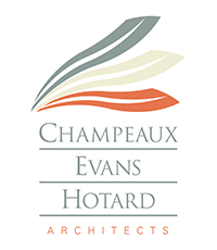 Champeaux Evans Hotard Architects Logo