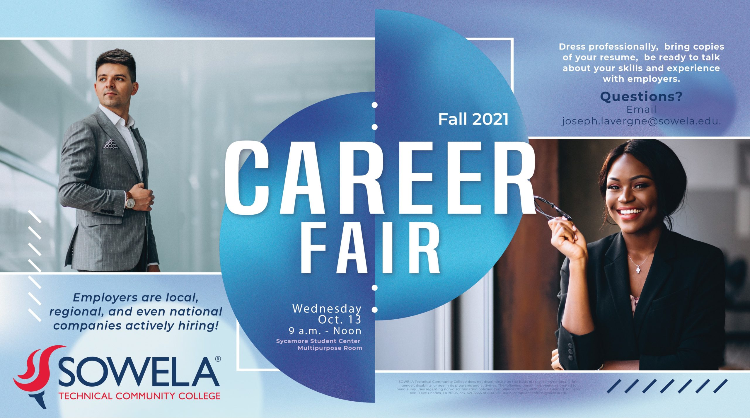 Fall 2021 Career Fair @ Sycamore Student Center