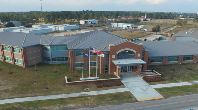 Aerial view of Regional Training Center