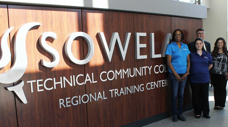 SOWELA SGA officers for 2018-19 with the Chancellor