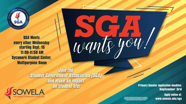 SGA Flyer