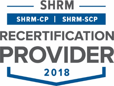 Society of Human Resource Management (SHRM) Recertification Provider 2018