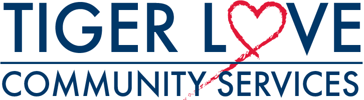 Tiger Love Community Services Logo